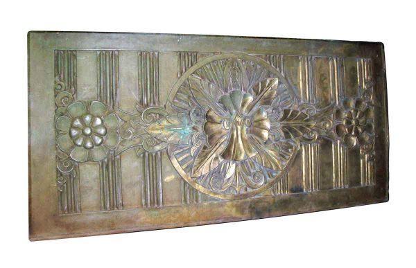 Large Art Deco Bronze Panel - Decorative Metal