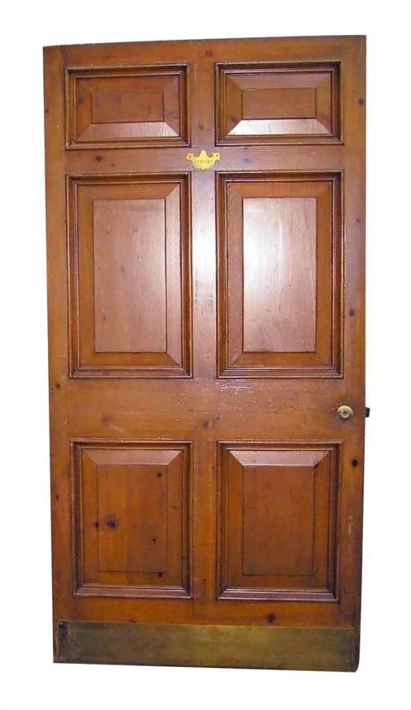 Knotty Pine Wide Raised Panel Door - Specialty Doors