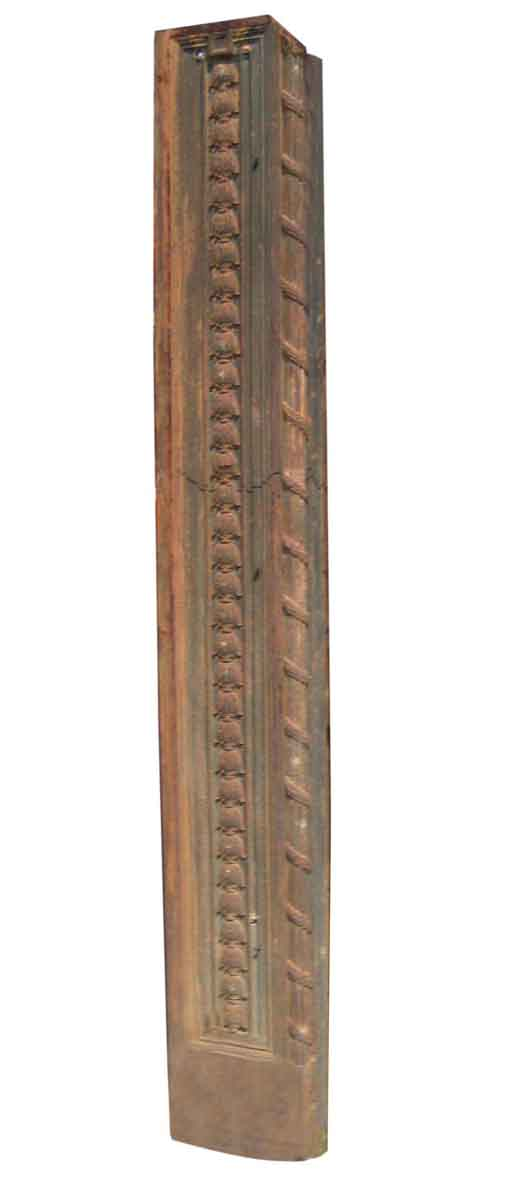 Ornate Cast Iron Pilaster from a Door Entry - Columns & Pilasters