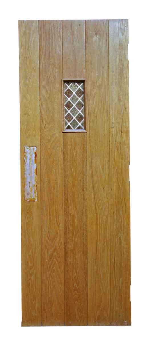 Antique Oak Doors with Leaded Glass - Specialty Doors