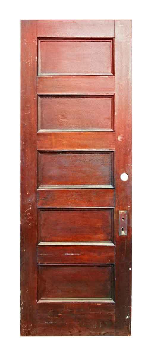 Five Recessed Horizontal Panel Door - Standard Doors