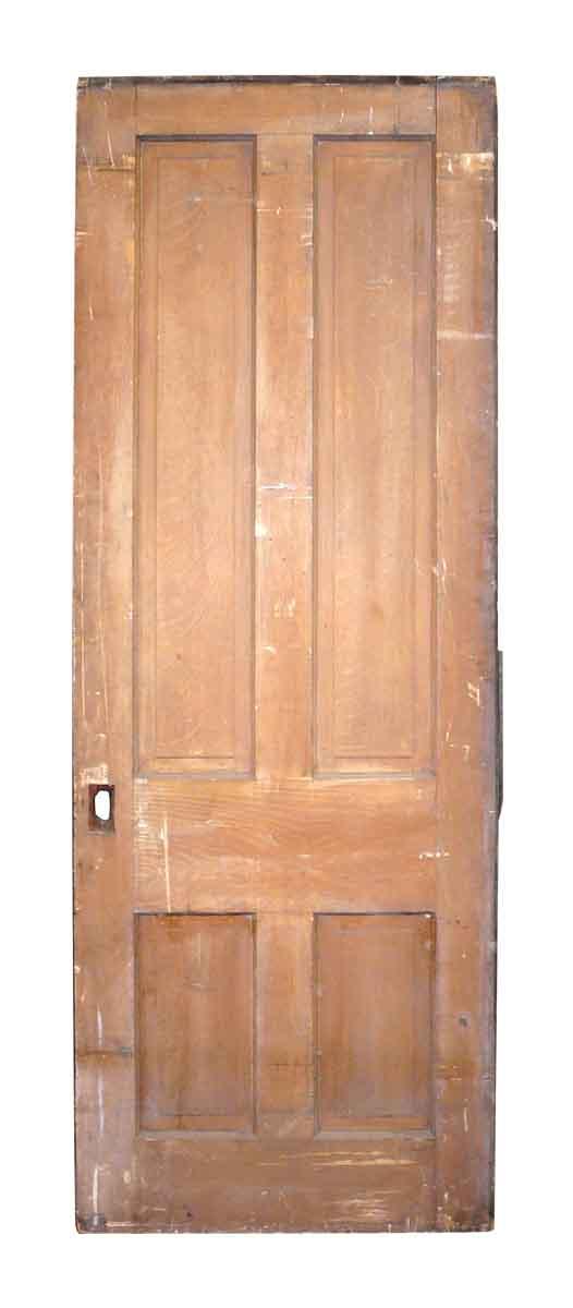 Antique Four Panel Door - Entry Doors