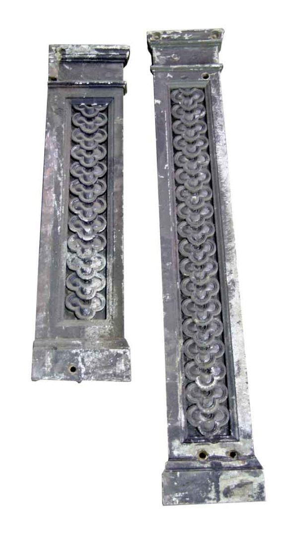 Cast Iron Highly Decorative Pilasters - Columns & Pilasters