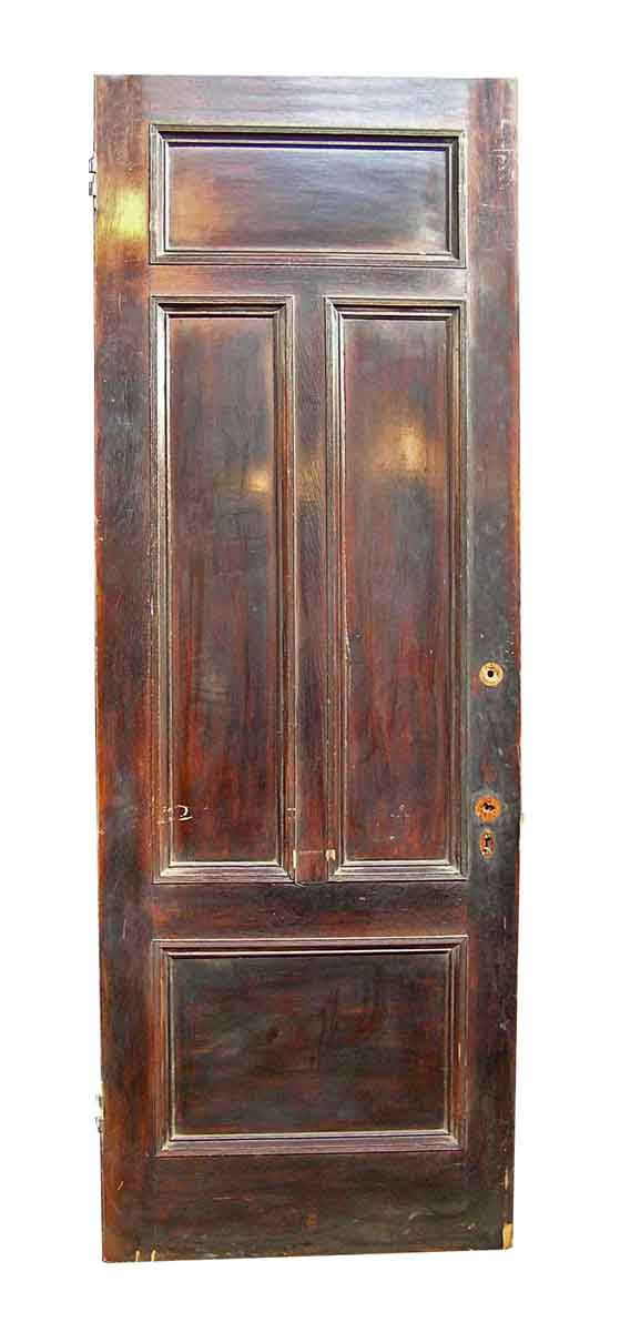 Tall & Narrow Mahogany Entrance Door - Standard Doors