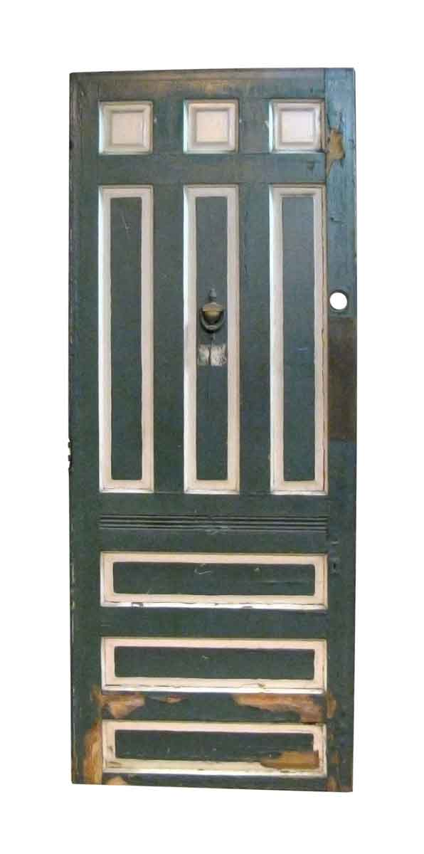 Oak Entry Door with Raised Panels - Entry Doors