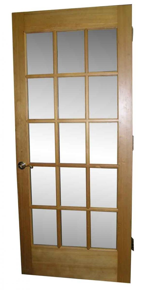 Heart Pine French Door Singles - French Doors