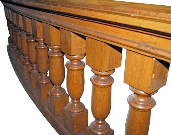 Big Tiger Oak Balustrade Bannister - Staircase Elements