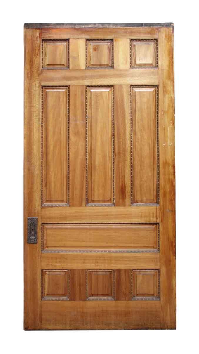 Forty Two Inch Wide Maple Pocket Door Doors