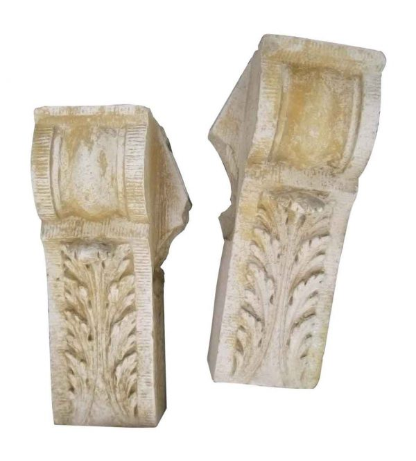 Leafy Terra Cotta Corbel Stones - Stone & Terra Cotta
