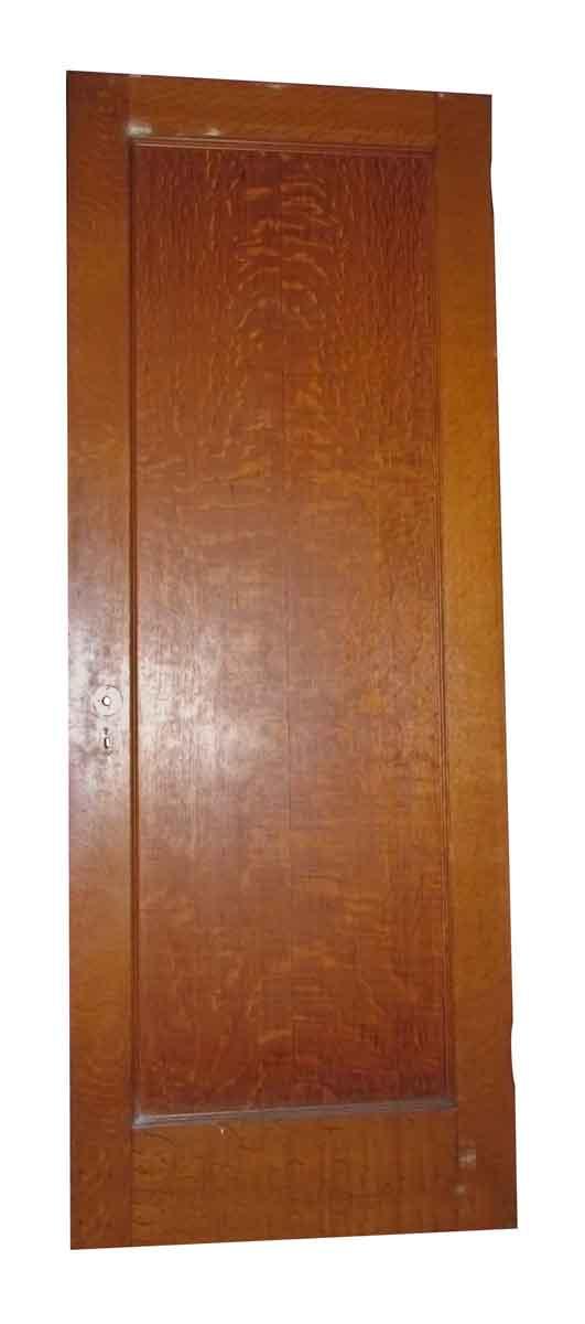 Tiger Oak & Maple Single Panel Doors - Standard Doors