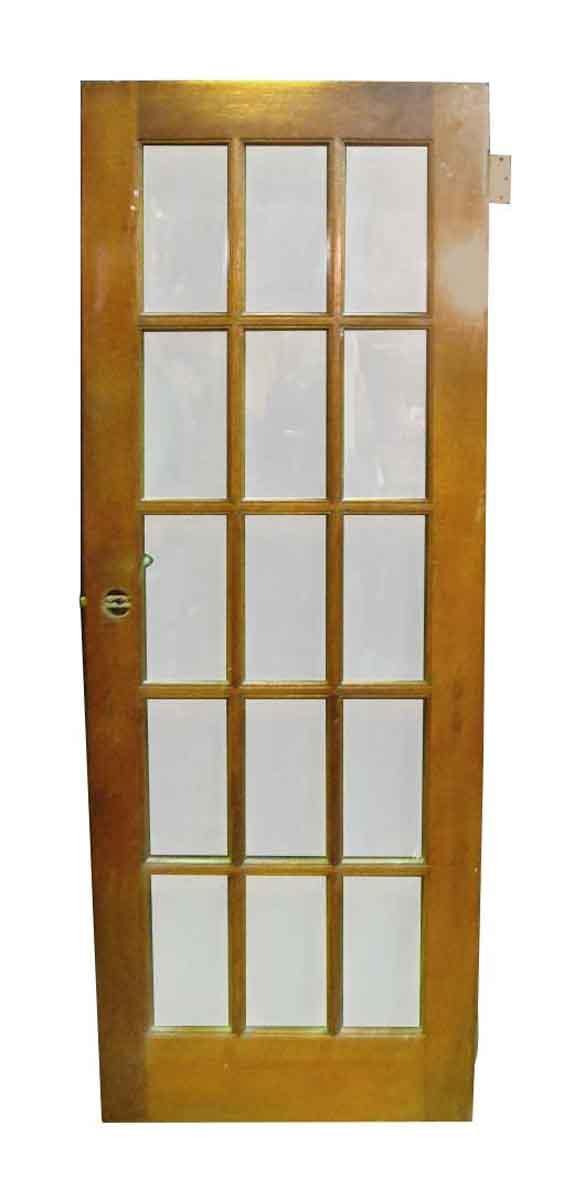Single Pine French Door - French Doors
