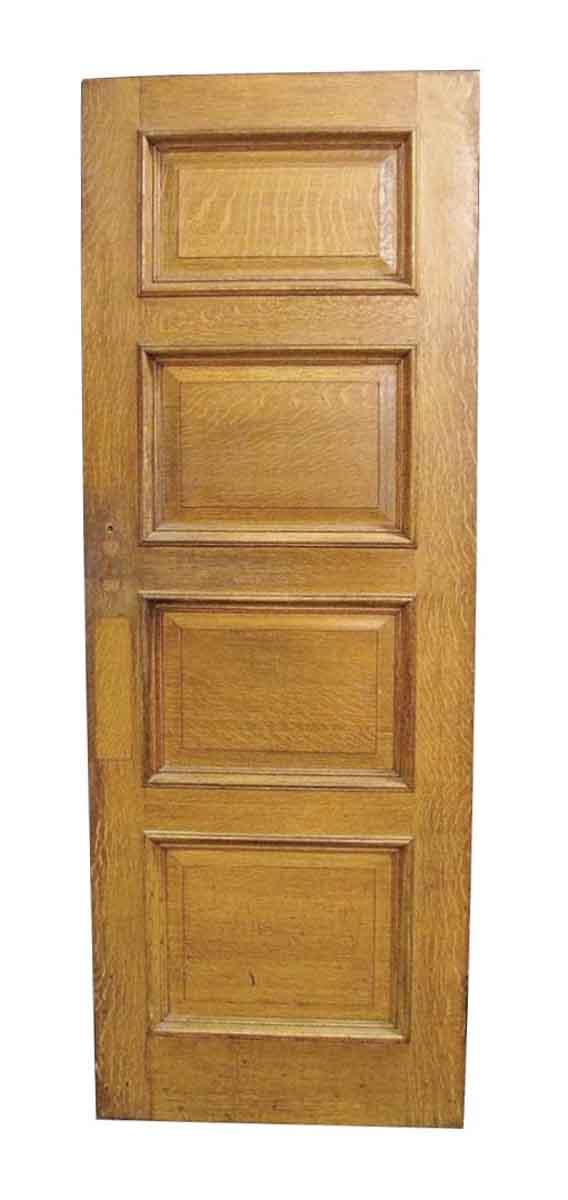 Four Panel Oak & Cypress Door - Standard Doors