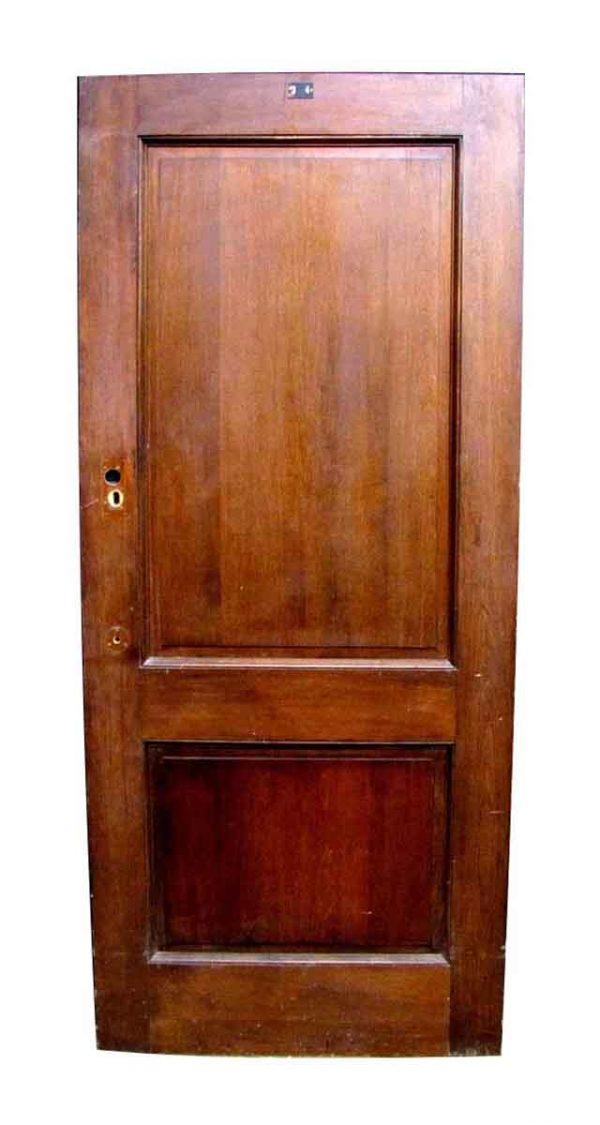 Mahogany Two Panel Door - Standard Doors