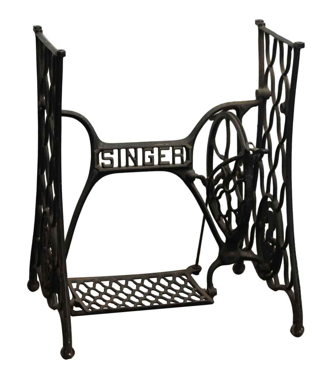 singer cast iron base olde good things. Black Bedroom Furniture Sets. Home Design Ideas