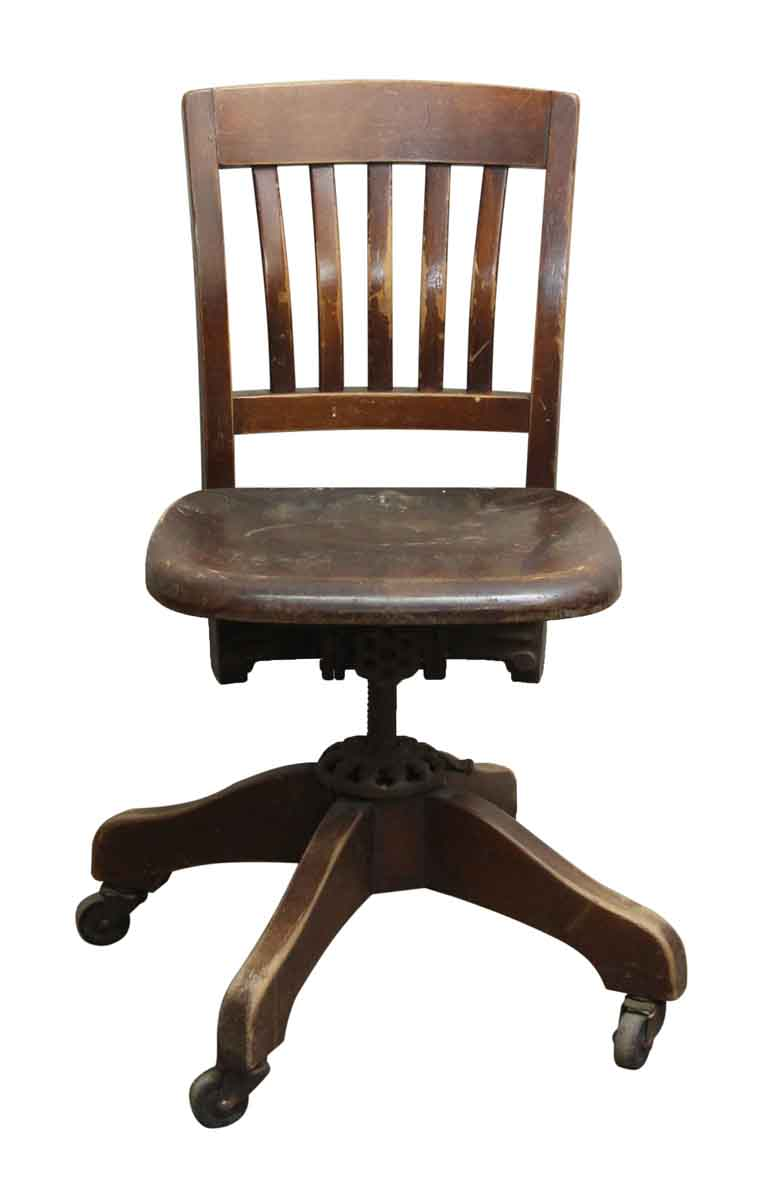 Fine Adjustable Swivel Chair By Milwaukee Chair Co Evergreenethics Interior Chair Design Evergreenethicsorg