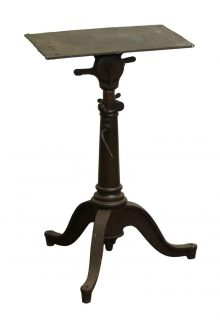 Good Great Cast Iron Vintage Drafting Table Base