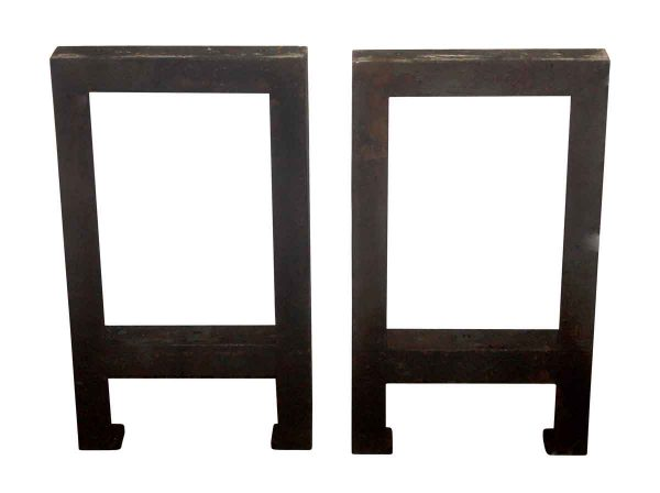 Terrific Set of Cast Iron Industrial Table Legs