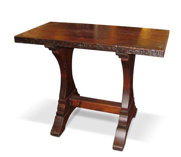 Extra Tall Handmade Reclaimed Pine Trestle Table