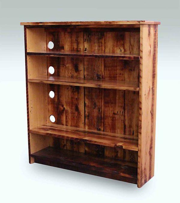 Reclaimed Handmade Pine Bookcase