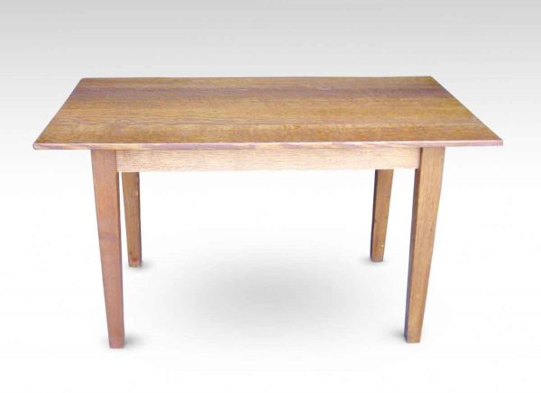 Small Oak Table with Shaker Style Legs