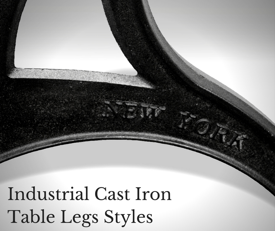 Industrial Cast Iron Table Legs Styles Video Olde Good