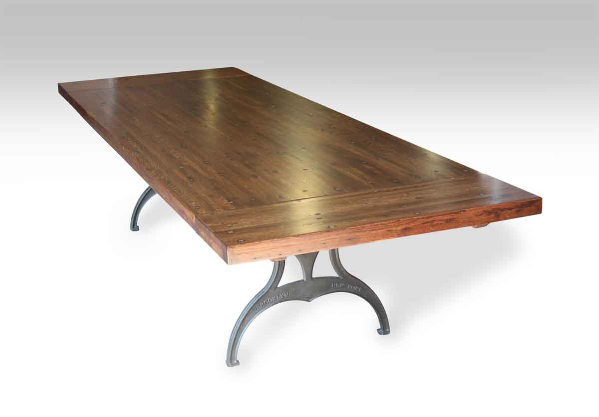 Industrial Style Dining Room Tables at Olde Good Things  Olde Good Things