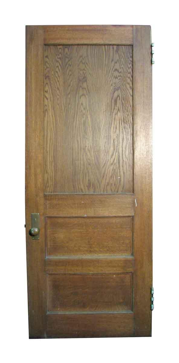 Reclaimed Antique Oak Veneer Door