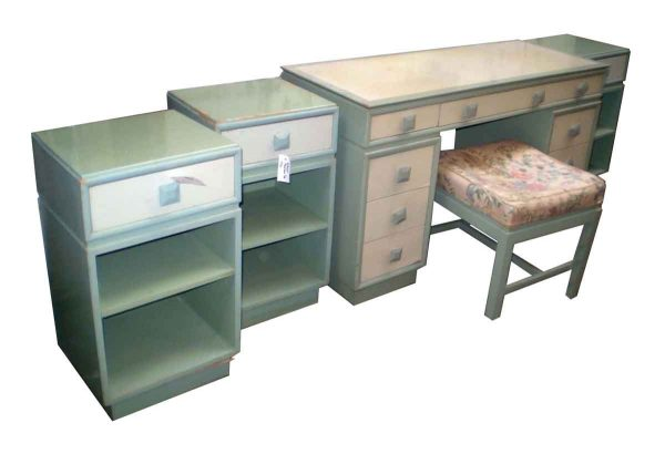 Mid Century Kittinger Wooden Bedroom Set