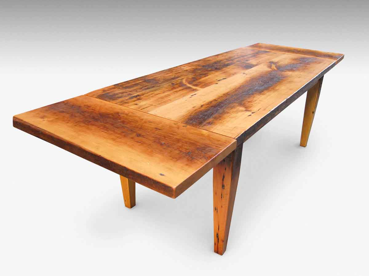 Exceptional Farm Table With Tapered Legs U0026 Extensions