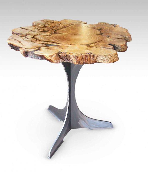 Salvaged Banyon Tree Table