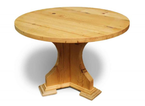 Antique Pine Custom Round Table