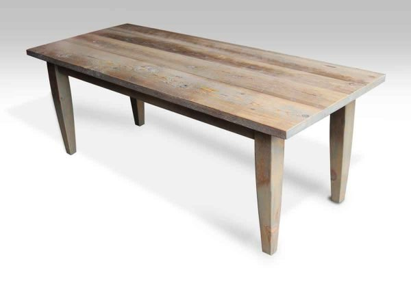 Farm Table with Light Driftwood Stain