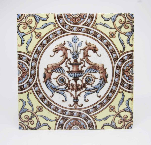 French Dragon Tile Set - Wall Tiles