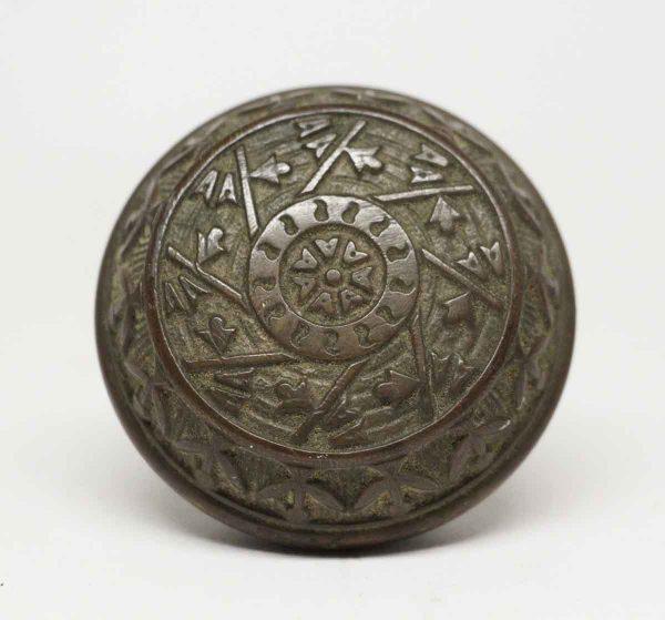 Antique Windsor Style Bronze Reading Knob