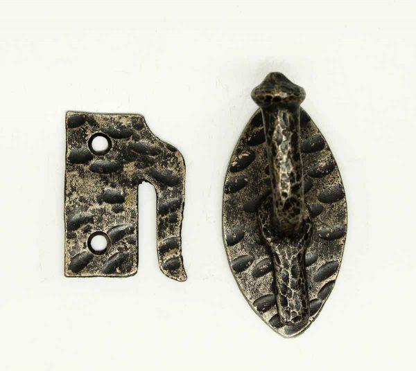 Antique Hammered Arts & Crafts Iron Lever Latch