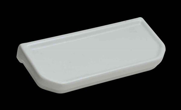 Vintage White Ceramic Wall Mount Bathroom Shelf - Bathroom