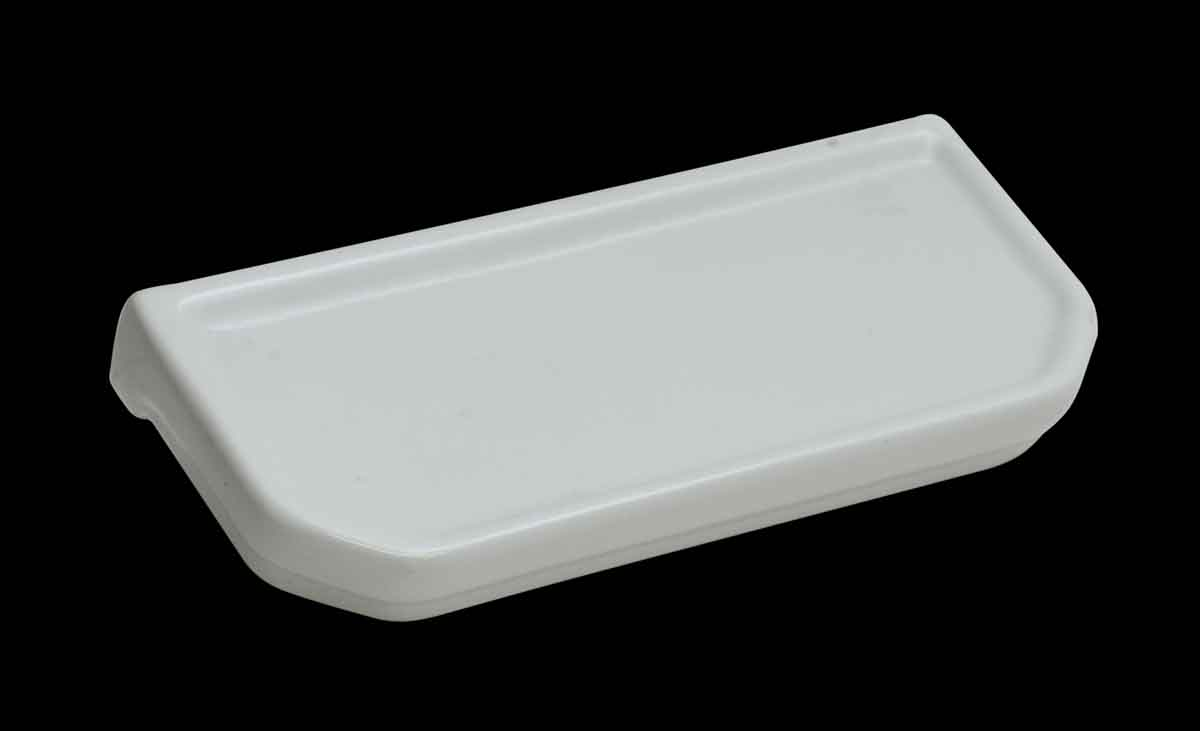Vintage White Ceramic Wall Mount Bathroom Shelf