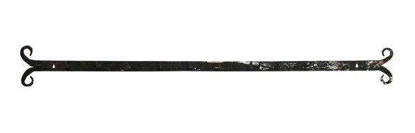 Imported Narrow Peg Hook Wrought Iron Rack - Racks