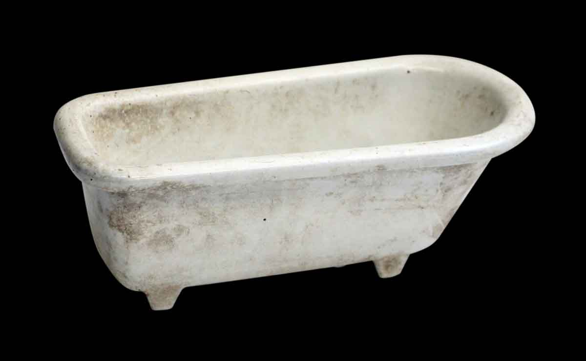 Vintage Godin Ceramic Bathtub Soap Dish | Olde Good Things