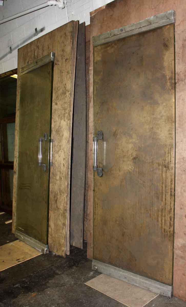 Mid Century Modern Glass Aluminum Entry Doors Olde Good Things