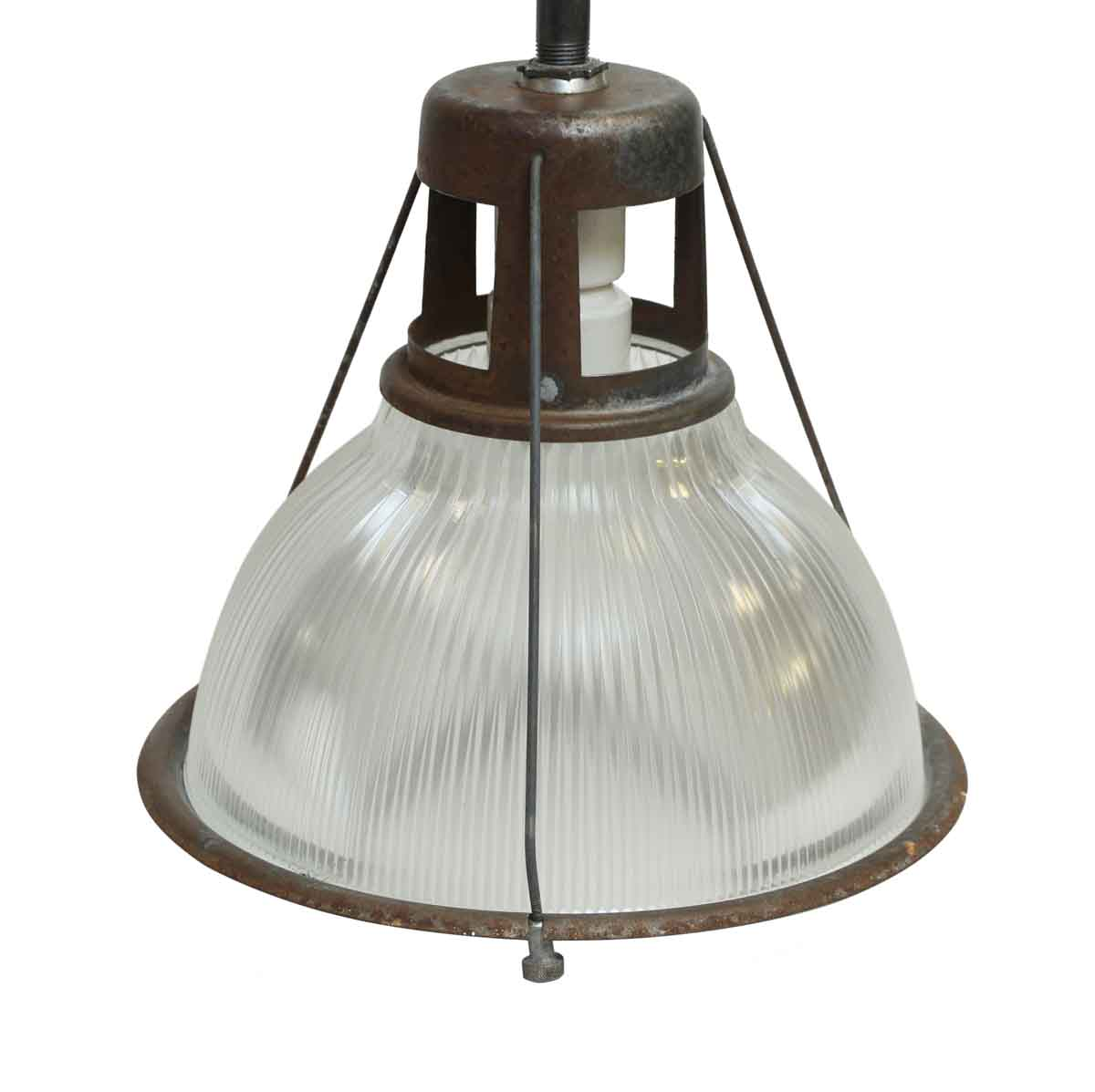 14 in. Industrial Holophane Factory Pendant Light | Olde ...