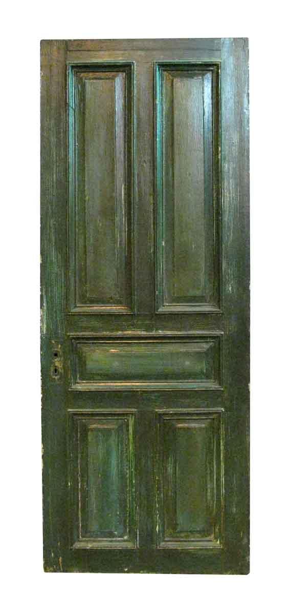 Antique Five Raised Panel Oak Door  - Standard Doors