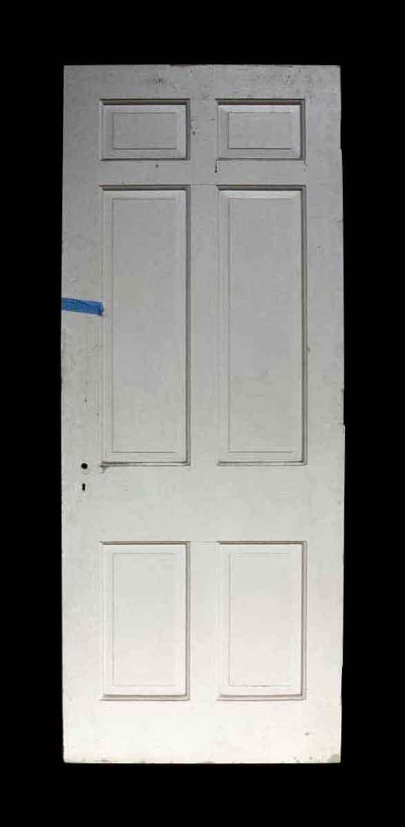 Antique White Six Panel Wooden Door - Standard Doors