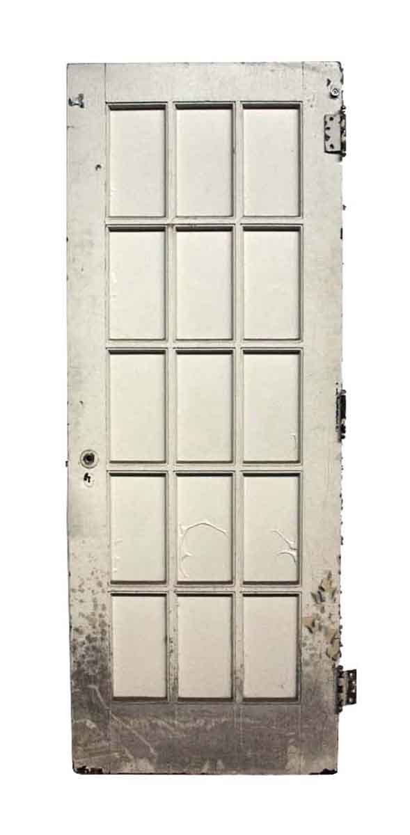 Salvaged Old 15 Lite French Door