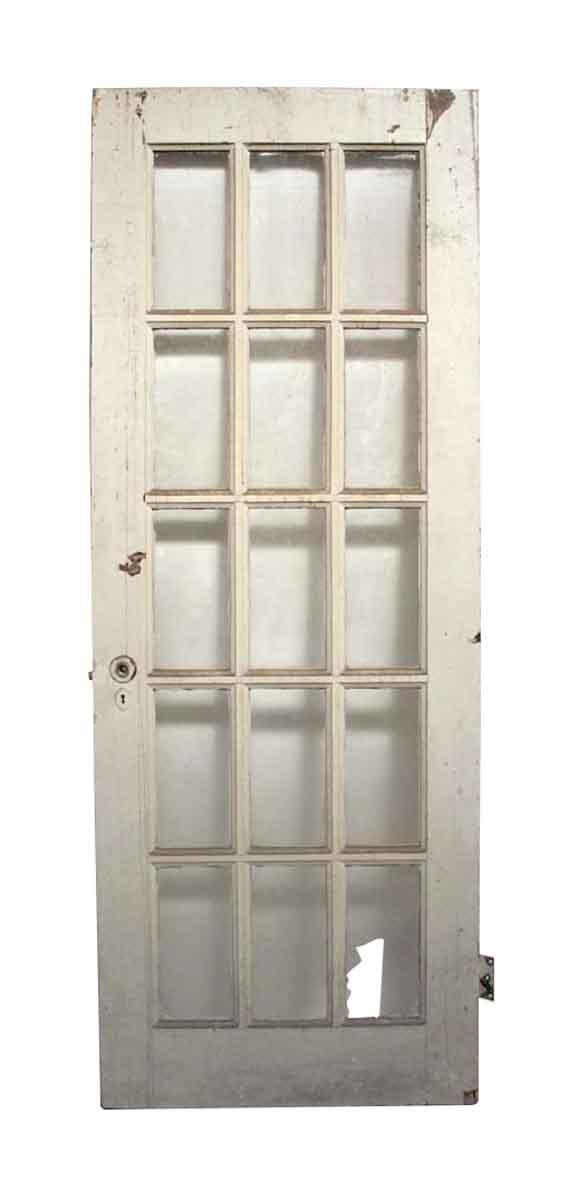 Old Antique 15 Lite French Door - French Doors