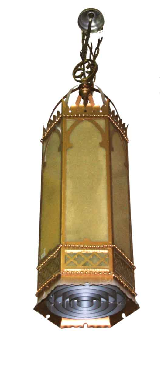 Antique Oversized Gothic Pendant Light - Down Lights