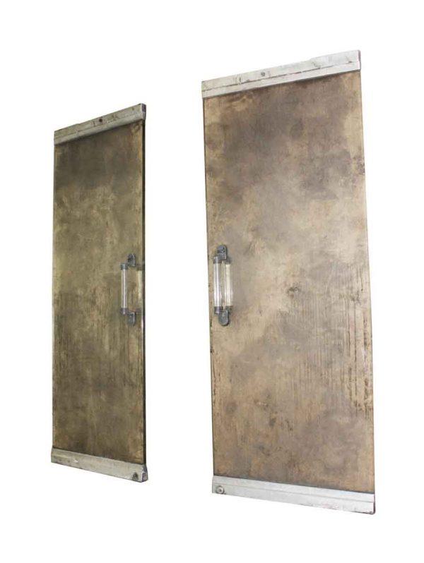 Mid Century Modern Glass & Aluminum Entry Doors - Commercial Doors