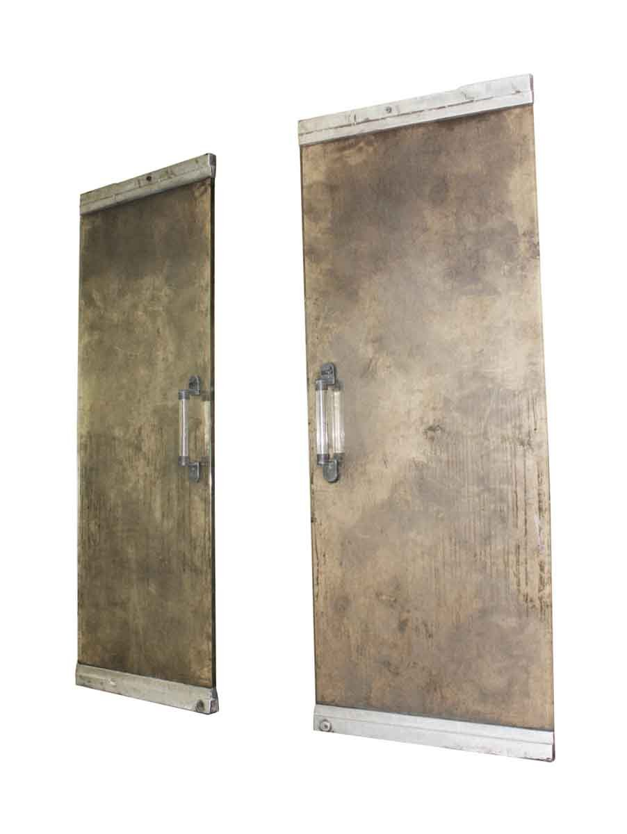 Mid Century Modern Glass Aluminum Entry Doors Olde Good Things