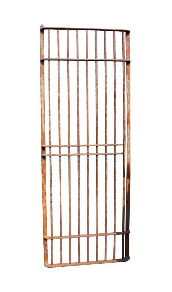 Pair of Wrought Iron Window Guards or Door Gates - Balconies & Window Guards