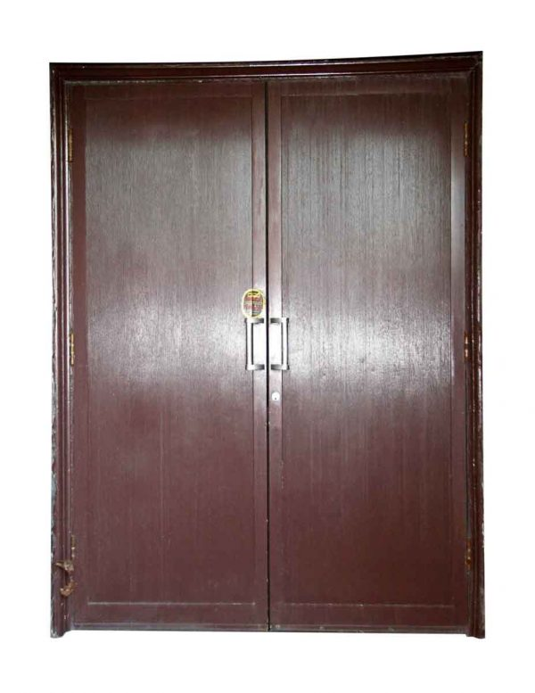 Reclaimed Aluminum Clad Art Deco Doors - Commercial Doors